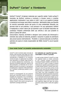Corian® e l'Ambiente (PDF)
