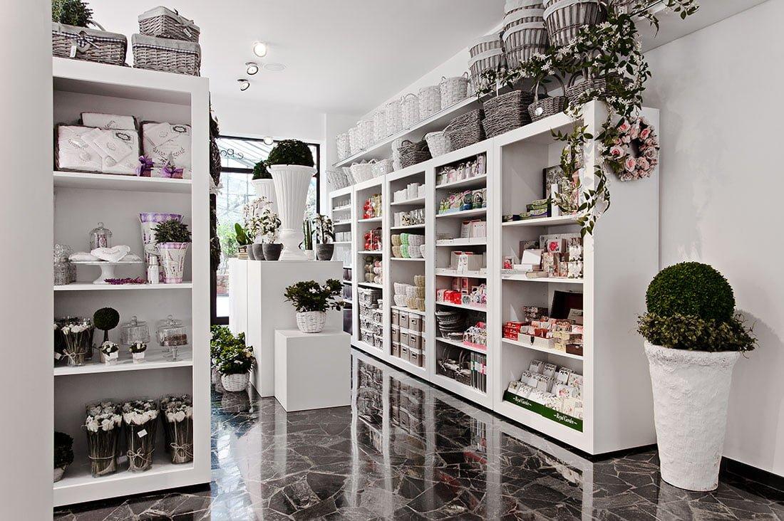 arredo negozio fiori
