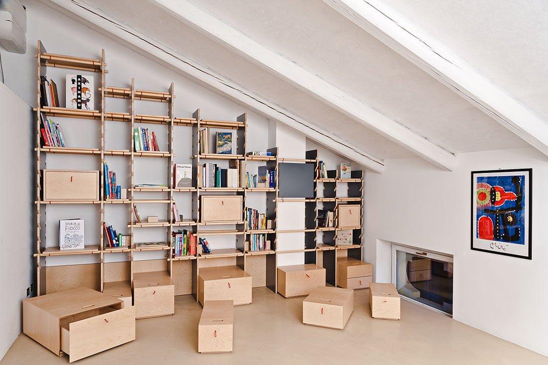 libreria falegnameria gardiman