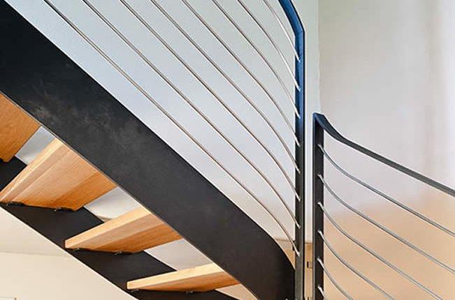 scale in legno realizzate a Biella